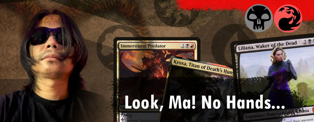 MTG Arena – Strixhaven Standard Rakdos Discard Deck with Valki of Lies, Kroxa and Immerstrum Predator