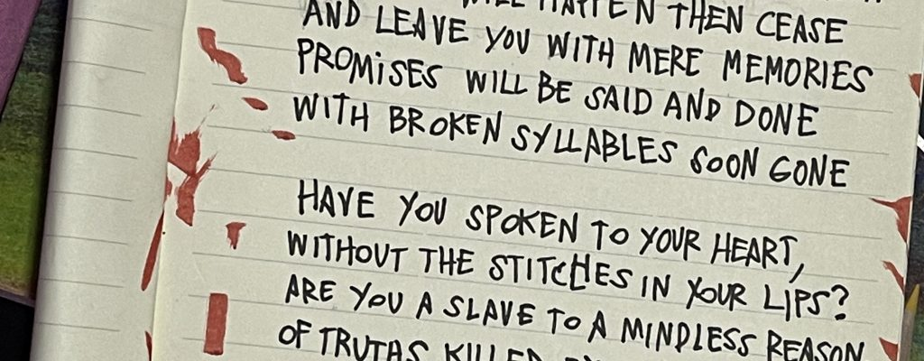 Dark Poetry - I Love You by Poetic Dustbin